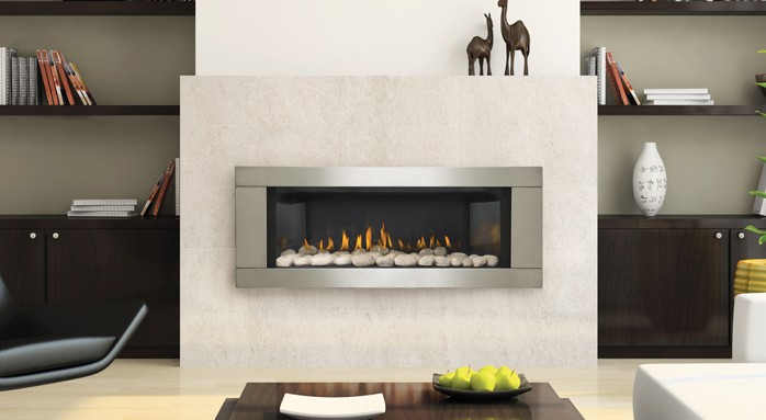 Contemporary Fireplace Salt Lake City | Uintah Gas Fireplaces