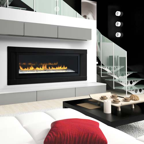 Uintah Gas Fireplaces installs a wide variety of linear fireplace designs in Salt Lake City. We provide the perfect solution for every client
