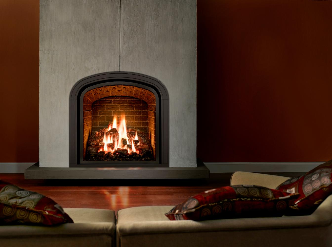 Gallery uintah gas fireplaces for Gas modern fireplace