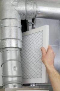 Furnace air filter